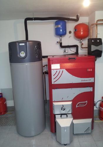 Waltis Pelson x3 in toplotna črpalka Kronoterm